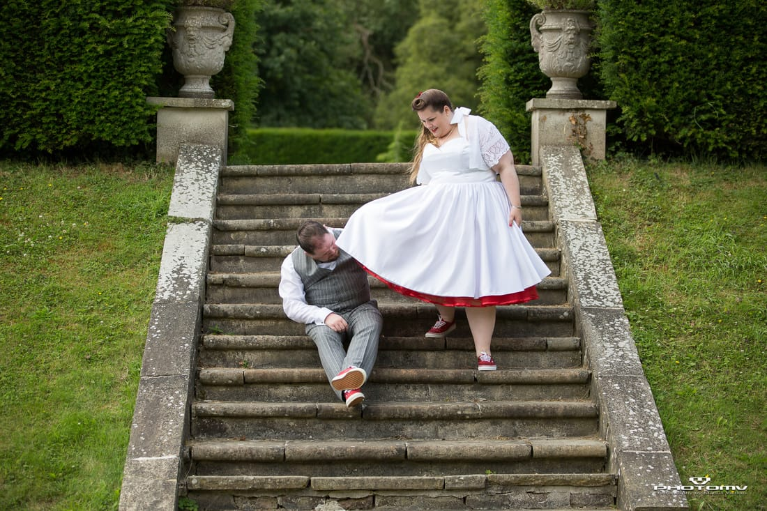 Fun wedding photography in Ireland