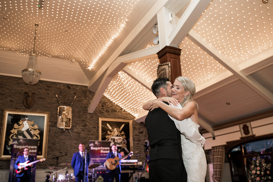 First dance photography by Mario. Wedding at Darver Castle, Dundalk