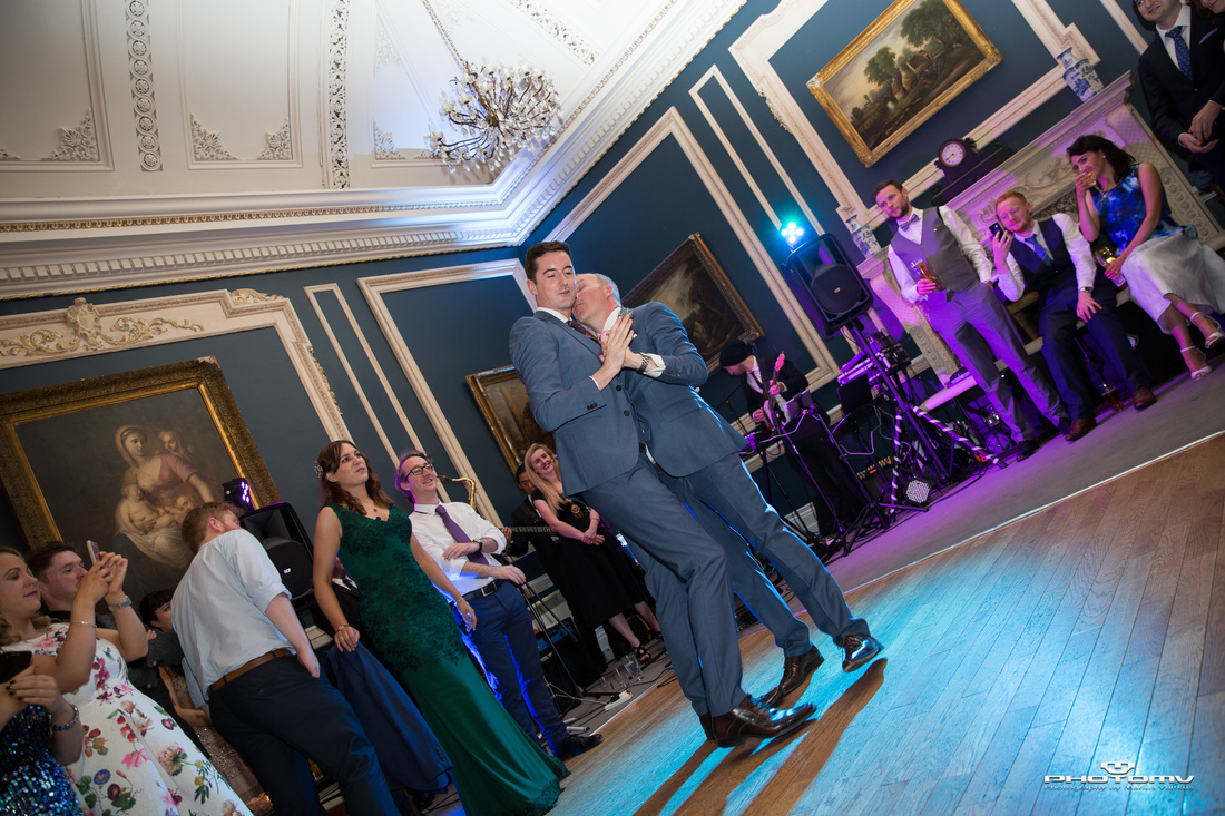 First dance at Stephen's Green Hibernian Club dance floor