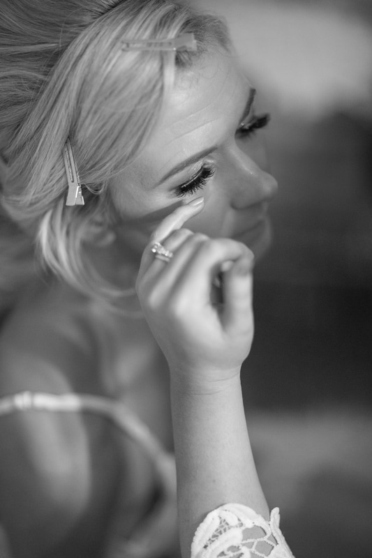 Bridal preparation photography in style