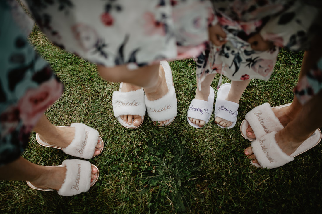 Flippers for bridal party