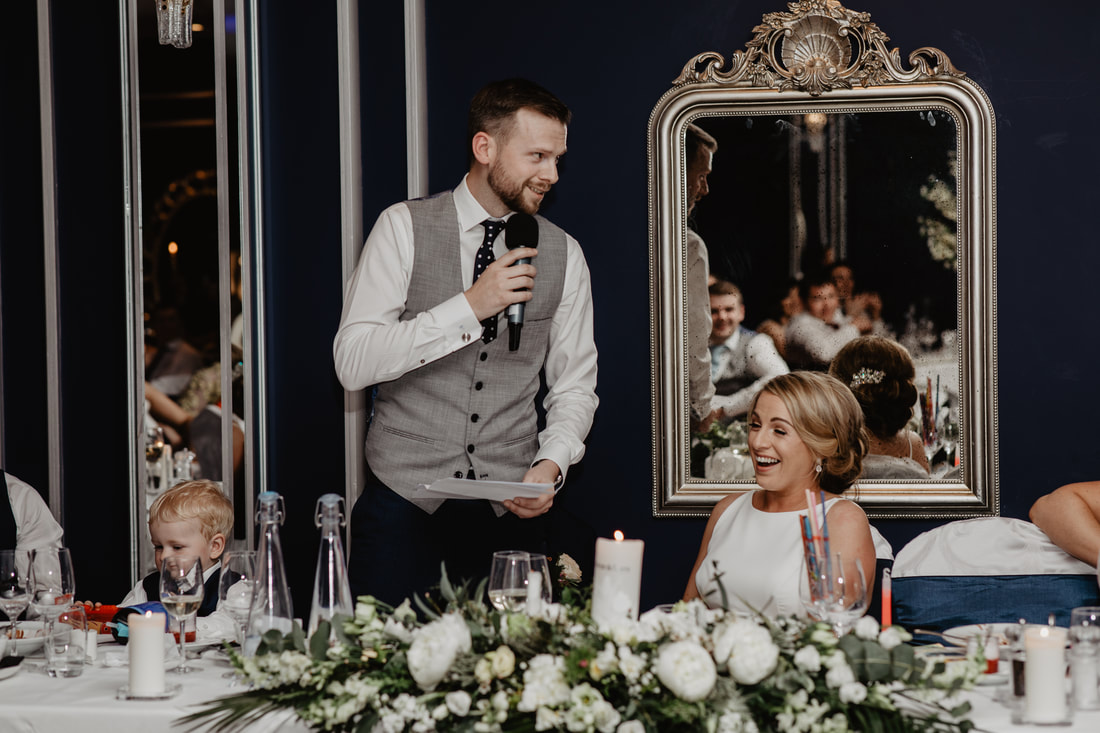 Grooms speech, The G Hotel, Galway