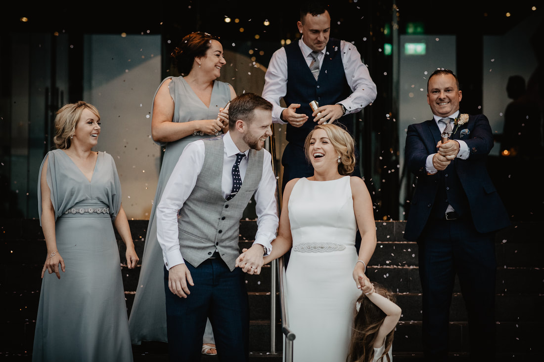 Confetti and loads of laugh, Wedding photographer Mario Vaitkus