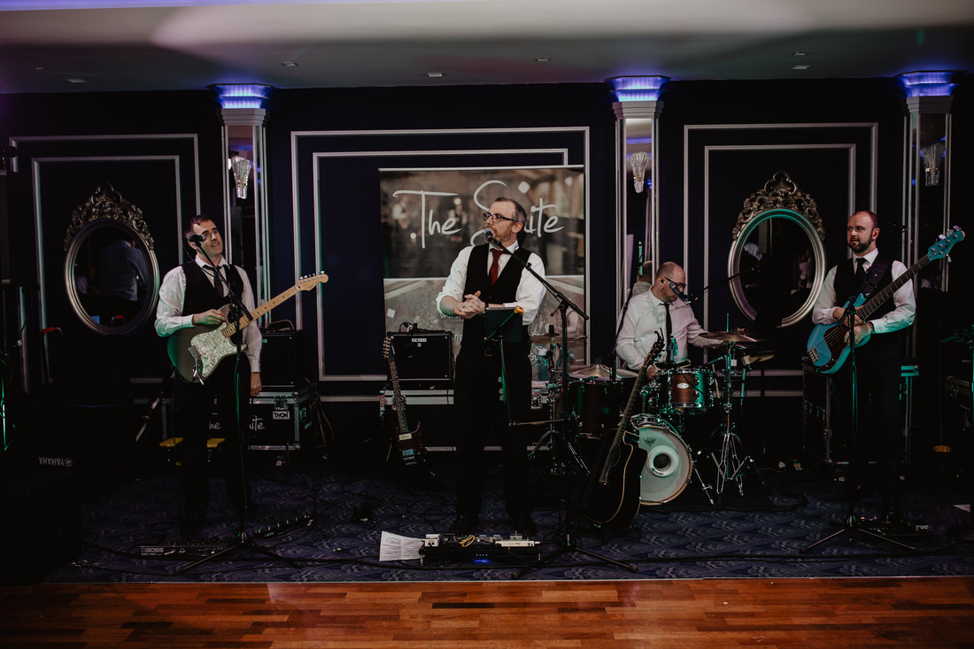 The Suite, Wedding band at The G Hotel and Spa