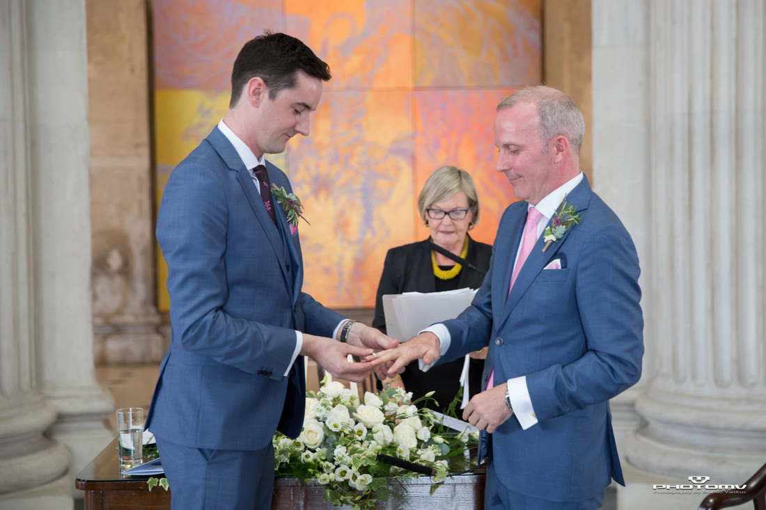 Gay, same sex, lgtb wedding ceremony in Ireland