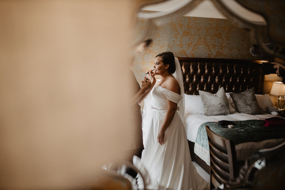 Creative wedding photography at Clanard Court Hotel, Athy, Co. Kildare by wedding photographer Mario Vaitkus