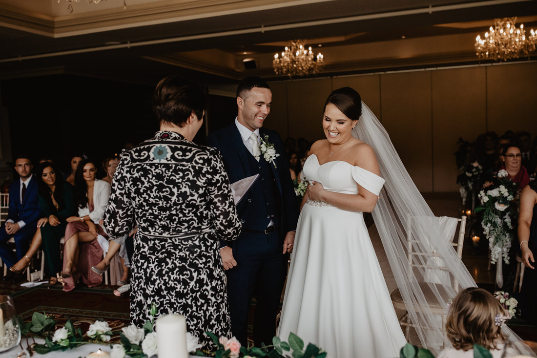 Getting married at Clanard Court Hotel, Athy, Co. Kildare by wedding photographer Mario Vaitkus
