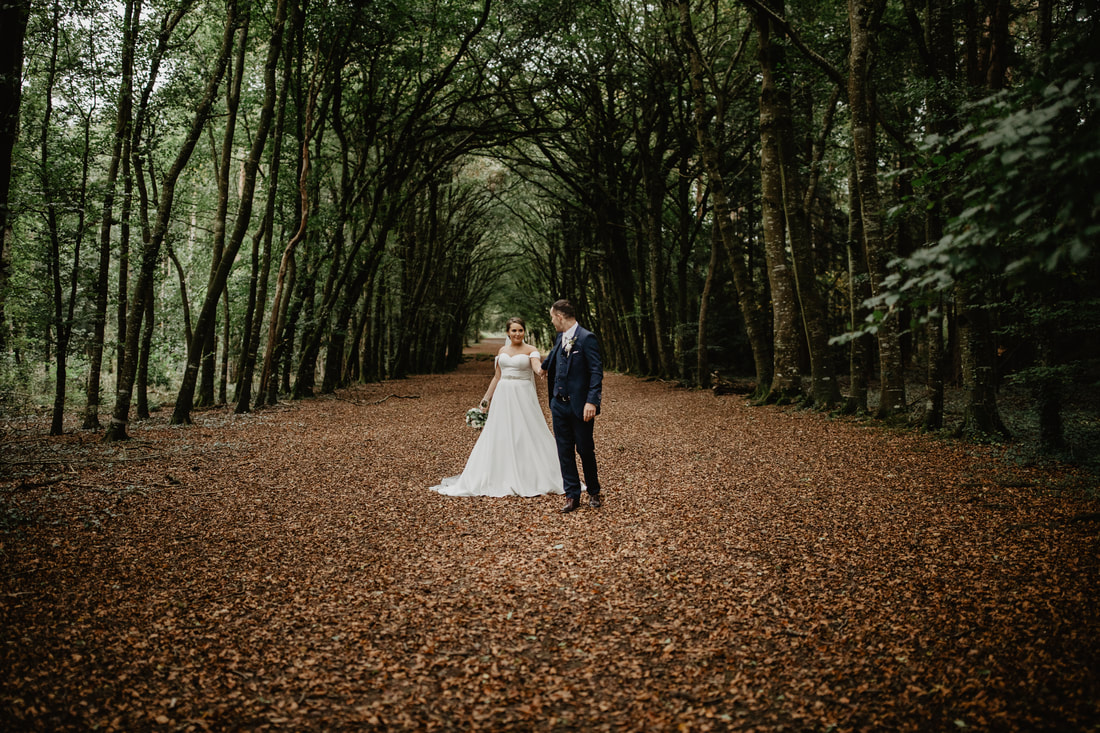 Wedding photographer in Kildare Mario Photo - Video Production. Mullaghreelan Woods, Kildare