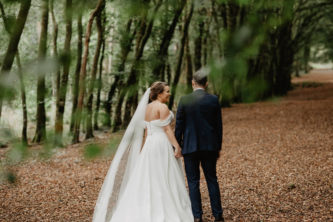 Wedding at Mullaghreelan woods. Wedding photographer in Kildare Mario Photo - Video Production