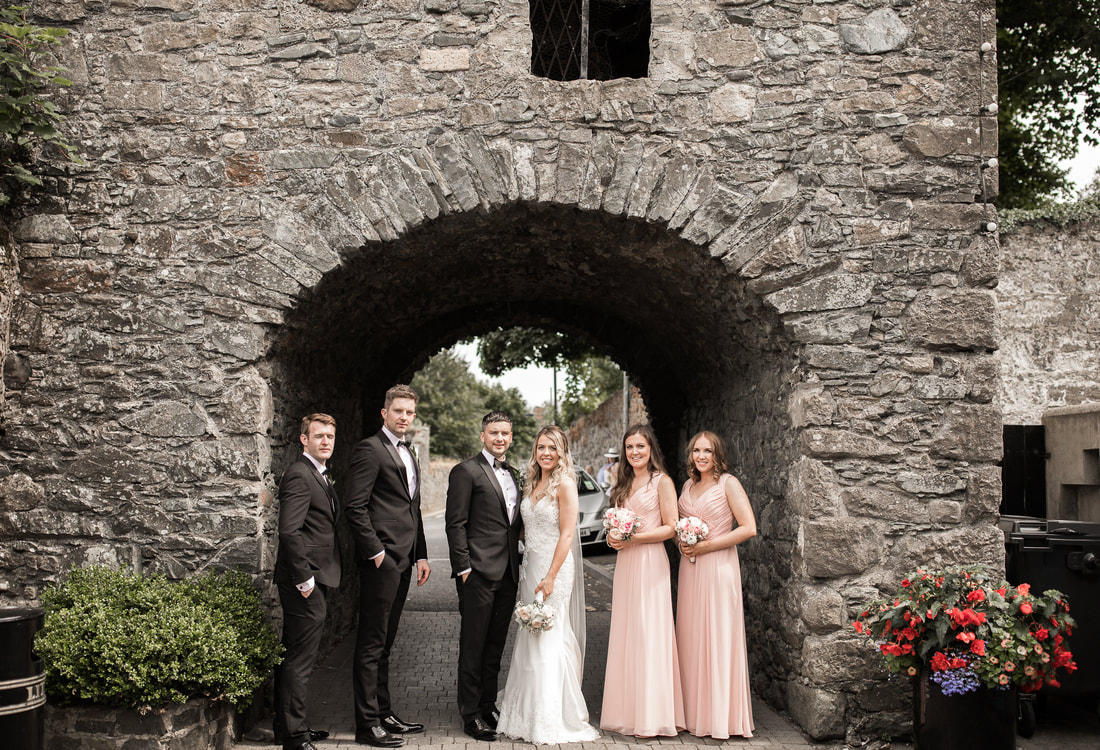bridal party , Carligford