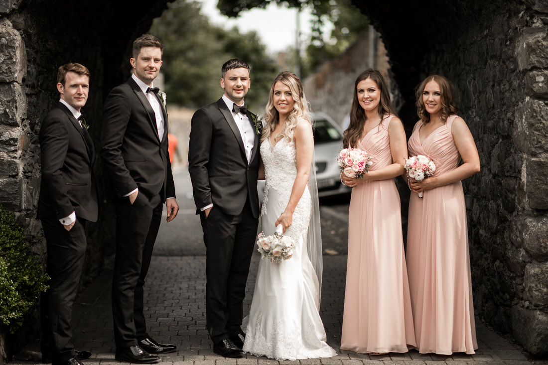 Bridal party Carlingford centre