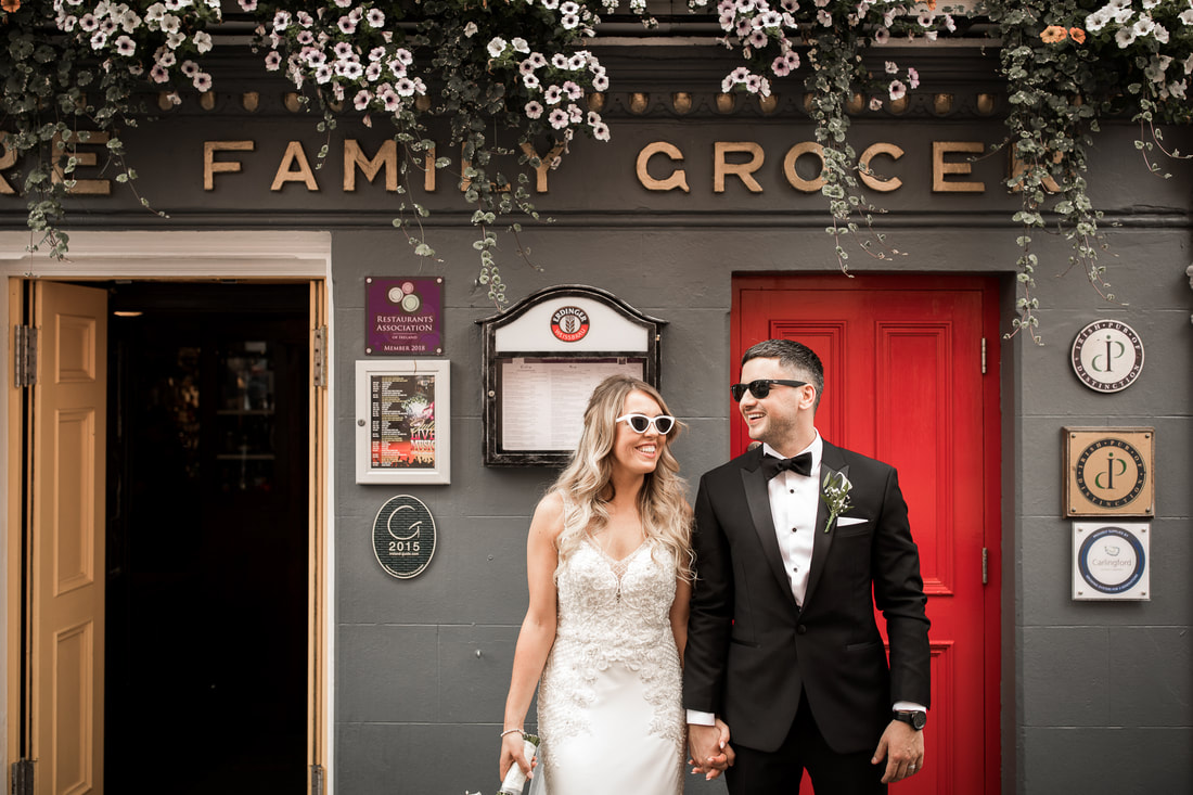 family grocer , Carlingford wedding