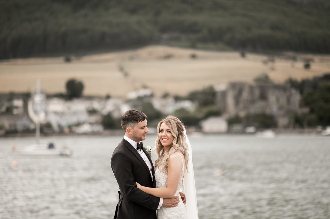 Carligford shore wedding