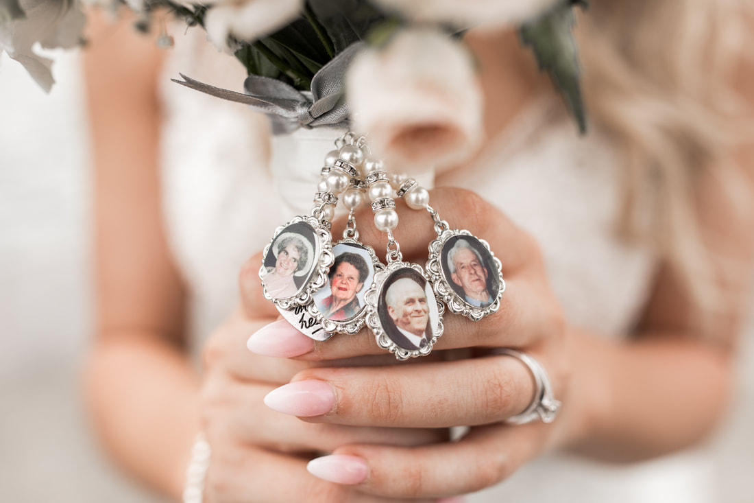 bridal bouquet full of memories