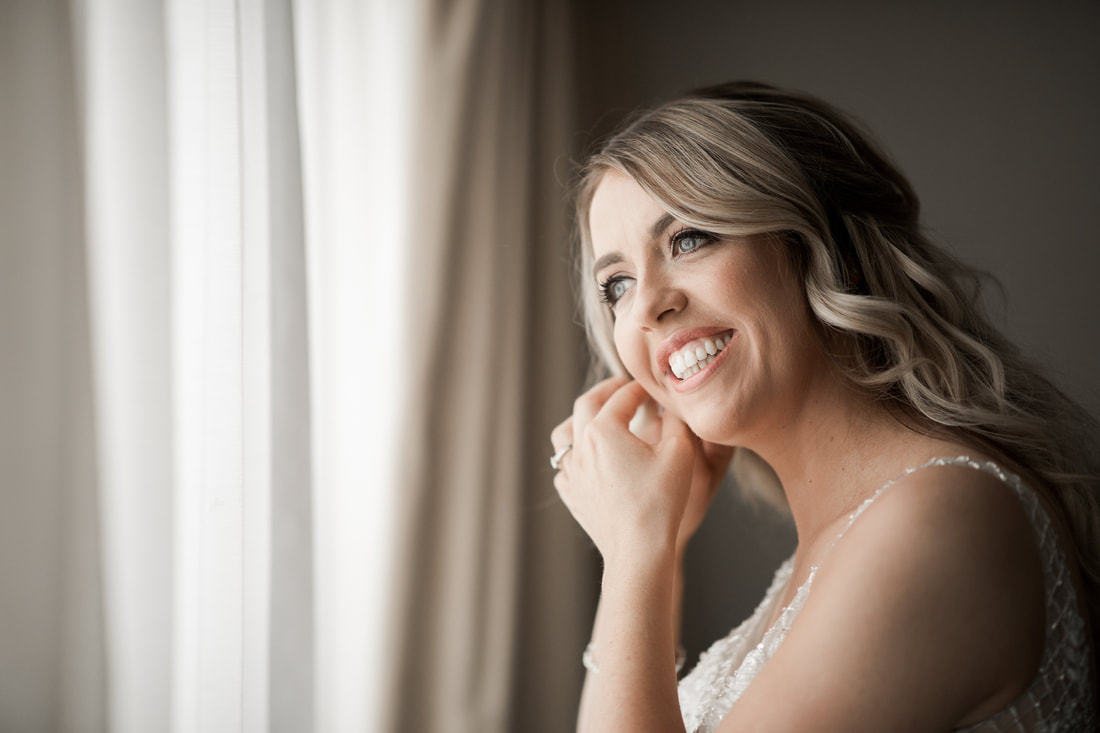 beautiful brides smile